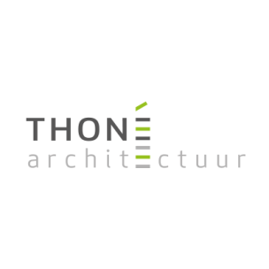 logo en huisstijl voor Thoné architectuur