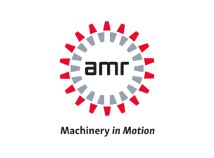 new logo AMR machinery in motion