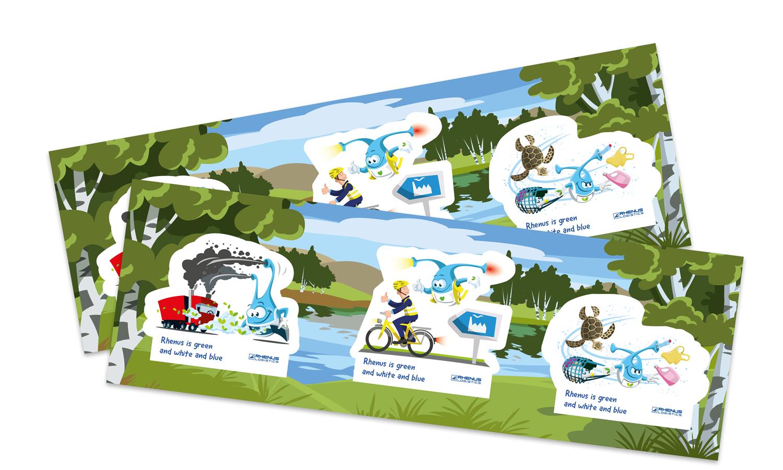 Bollihoppa eco stickers