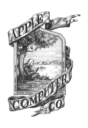 Eerste Apple logo
